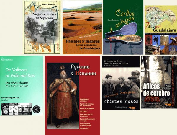 """Ejemplos de libros diseñados y maquetados por """"Estación Mir, SL"""""""