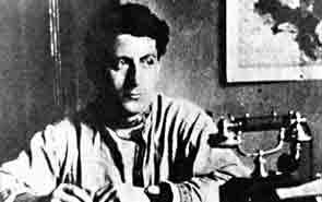 Андреу Нин у себя в кабинете в Коминтерне в Москве, около 1929 года