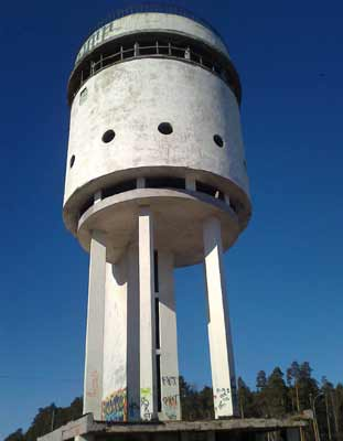 Torre blanca de agua (1929)