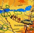 En coche de Madrid a Ucrania, Rusia, Kazajistán y Uzbekistán