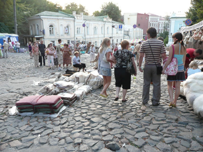 Kiev. Cuesta de San Andrés