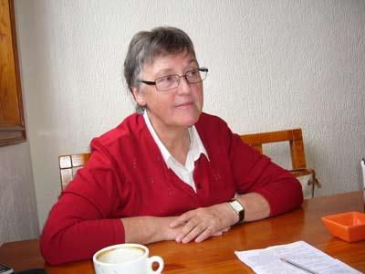 Alicia Gonzalo Lopez, dirigente del Centro Infantil en Romanovka (Vladivostok)