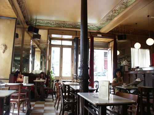 """Кафе """"Барбьери"""" в Мадриде"""