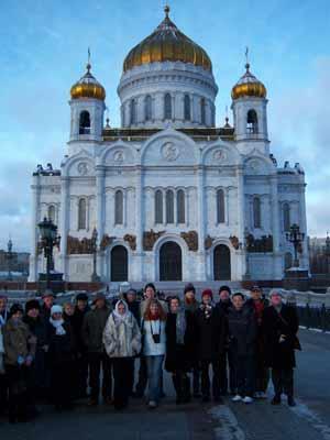 El templo de Cristo Salvador en Moscú