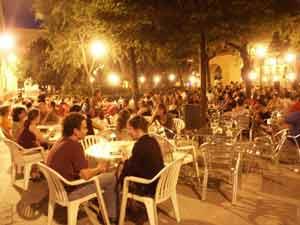 Plaza madrileña del Dos de Mayo