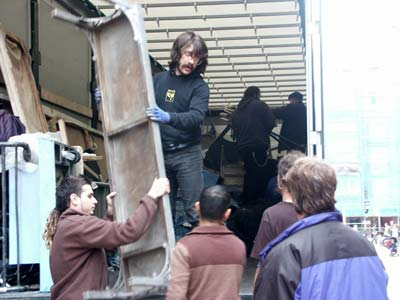 Técnicos de teatro en Vitoria