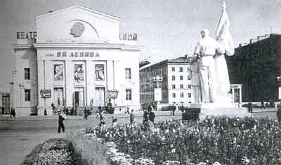 Norilsk en el Círculo Polar Árrctico, los años 60