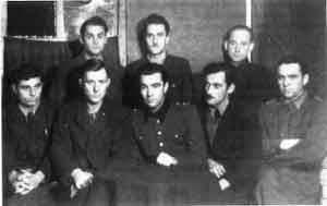 Un grupo de ucranianos en Madrid