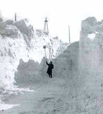 Capa de nieve en Norilsk