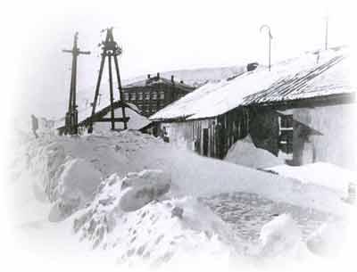 Un paisaje de Norilsk